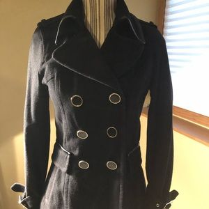 Doubled Breasted coat by Express